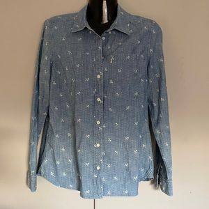 Levis  Womens Long sleeves Size Medium Pre Owned